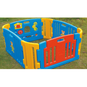 Plastic foldable children toys baby playpen safety fence