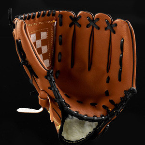 Professional  Leather Baseball Softball Gloves Mitts Hand Thrower 10.5/11.5/12.5