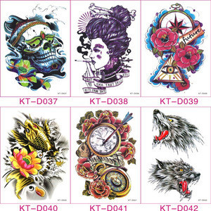Promotional hot selling water transfer sticker tattoo