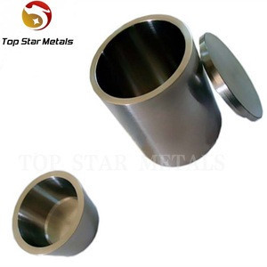 Reasonable Price pure tungsten crucible with Heat resistance for growing monocrystals