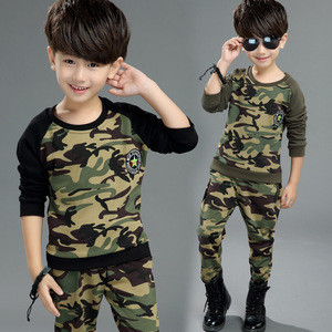 Shopping Long Sleeve Children Clothing Sets For Kids Boy Suits