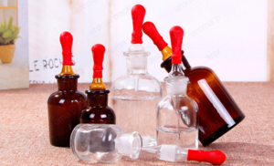 Wholesale High Quality 30ml 60ml 125ml for Lb Medical Amber Glass Regent Bottle with dropper