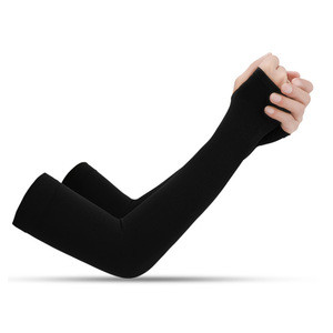 Wholesale Running Cycling Driving Reflective Sunscreen Bands Ice Fabric Arm Sport Sleeves