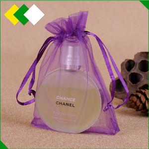 Yijun wholesale Promotional customized cheap mini mesh organza packaging drawstring jewelry gift bag