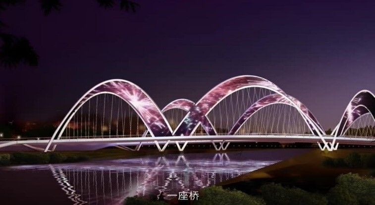 Flexible Curved LED Mesh Display,LED Curtain, Freeform LED Video Wall,Transparent LED Display For Building Facade