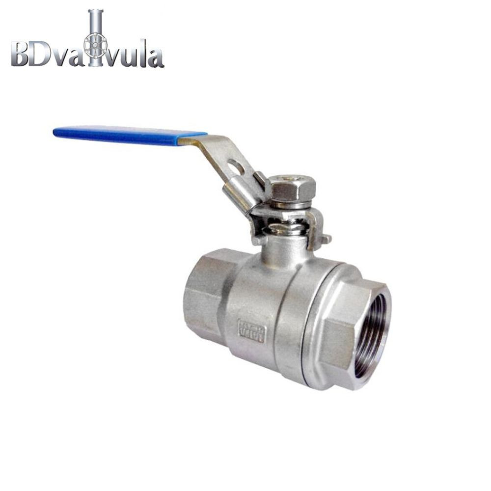 DN8~DN100 Stainless steel 316 ball valve with locking device