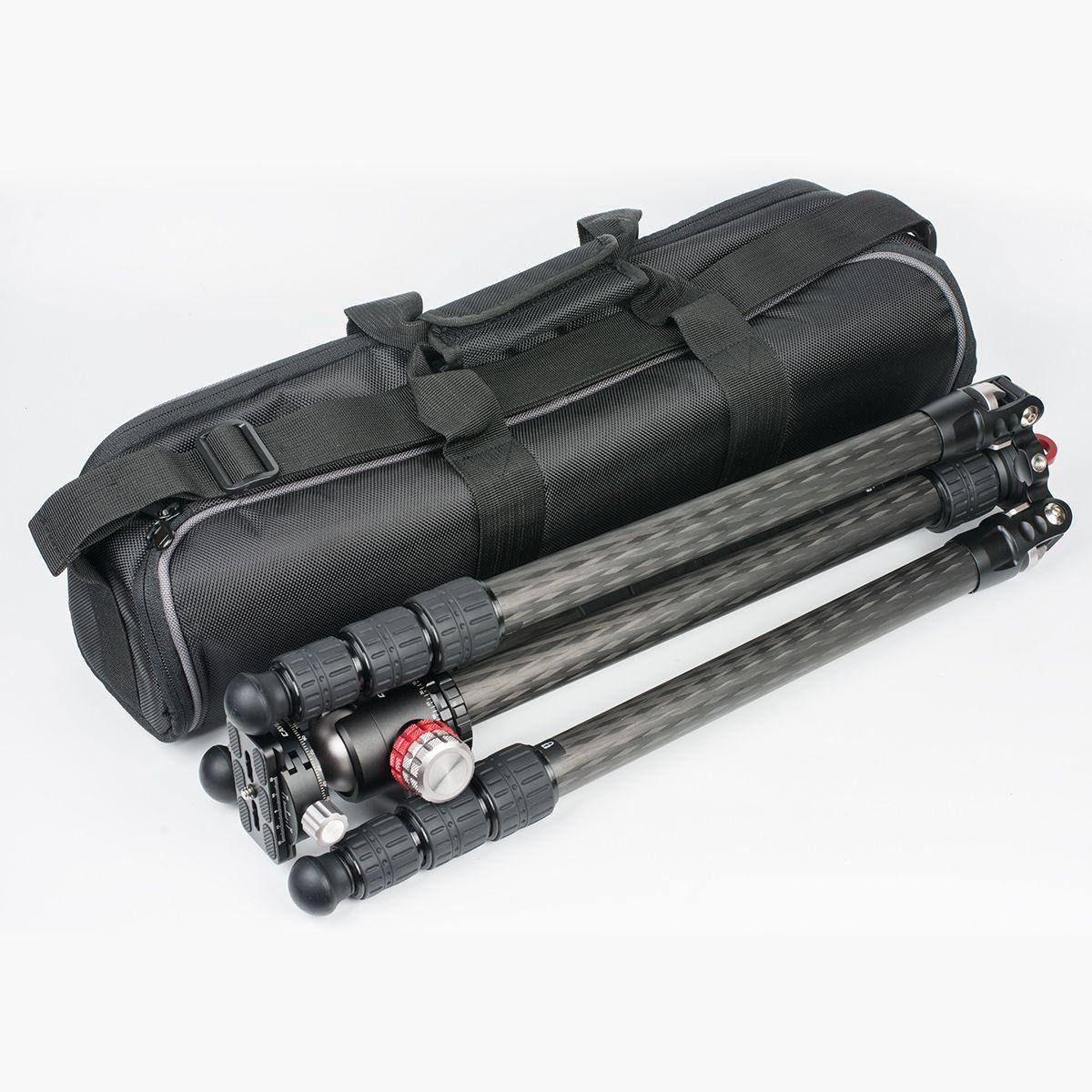 Travelling carbon fiber tripod