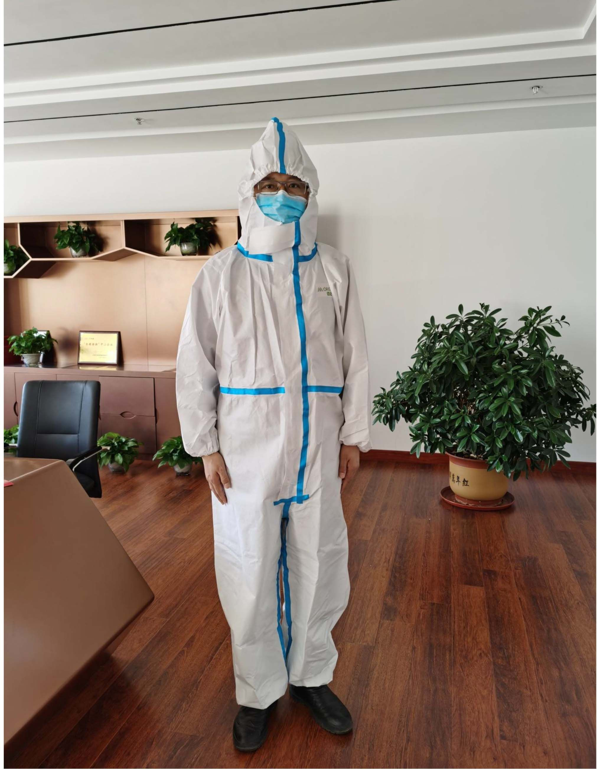 Covid safety isolation gown/ safety clothing