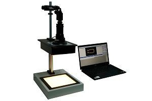 Semi Automatic Polarimeter Stress Magnifier Polariscope  Stress Meter for Glass and quartzproducts