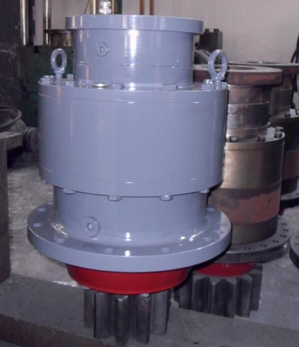 Hydraulic Transmission Planetary slewing speed reducer