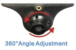 360 degree angle adjustment high definition rear view car camera