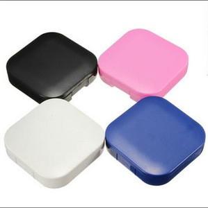 4 Colors Portable Cute Travel Contact Lens Case / Contact Lens Storage / lens storage box