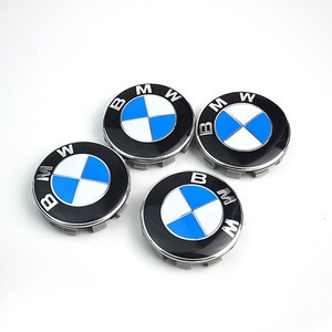 Car wheel cover for Mercedes-Benzstandard 68mm3 series 5 series X1X3X5X6 center cover M standard 10 claw blue white tire