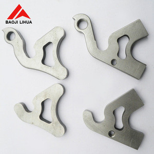 China factory anodized custom cnc machined forged parts made of titanium, nickel, copper,tungsten