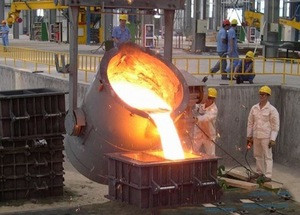 Chinese hot sale foundry pouring Iron and steel casting ladle