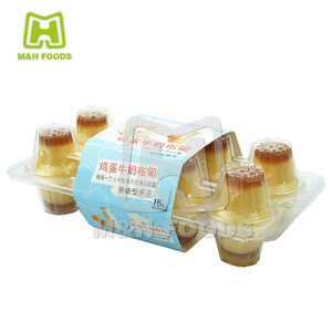 Egg Milk Jelly Pudding Cups Candy Snacks
