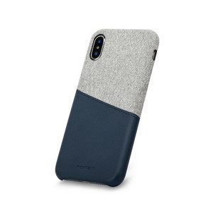 Fabric + PU Leather With Card Slot mobile phone shell shockproof case for iphone XR XS XS MAX phone cover