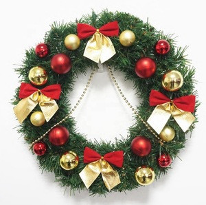 FCC1001 Amazon hot sale wreaths autumn Christmas wreaths for home decoration