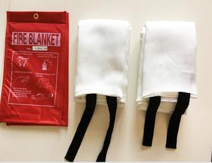 Glass fiber blanket/fire extinguisher blanket