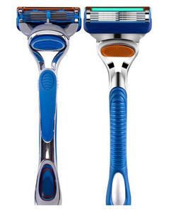 High quality 5 blades +1 trimmer blade men's shaving system razor blades