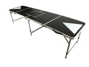 High Quality Beer Pong Game Aluminum Party Pong Table with Cooler Bag
