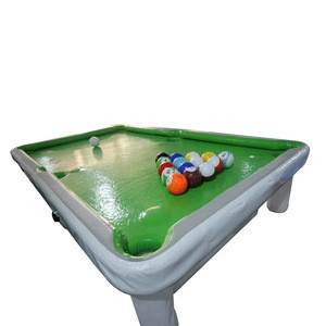 High quality Inflatable Billiard Soccer Ball, Inflatable Billiard Pool Tables