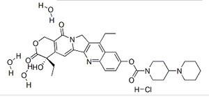 Irinotecan Hcl CAS No136572-09-3 Antineoplastic GMP Manufacture