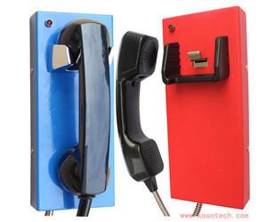 KNTECH no keypad phone KNZD-14 Auto dial telephone for jail wall mount telephone set