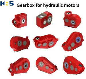 KRT500 Reduction Gearbox for hydraulic motors,equivalent to Berma RT500,Grazioli G5545 gearbox