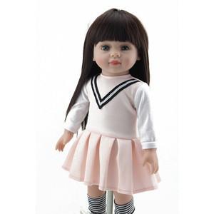 Lifelike pretty 18 inch American girl doll