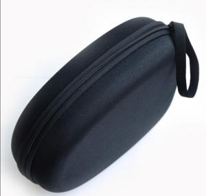 Low Price Mini Black Mutispandex Headphone Bags With Debossed Model