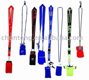 Mobile phone neck strap