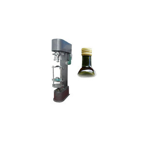 Multifunctional aluminum capping machine for glass bottle and plastic