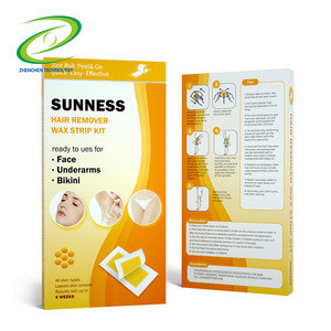 New product Disposable Depilatory Waxing Strip Kit Single Double-sided Hair Removal Wax Paper