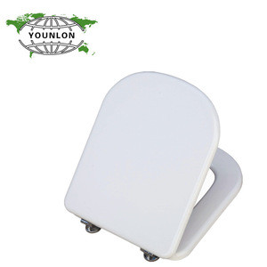 New style white moulded wood toilet seat toilet seat cover