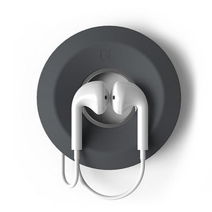 Portable Magnetic Silicone Round Earphone Cable Wrap