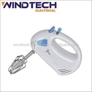 Portable mini electric hand food mixer