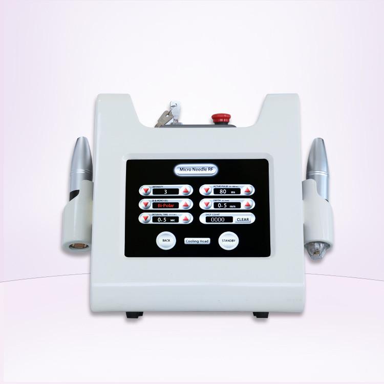 Portable skin wrinkle removal rf microneedling rf micro needling machines