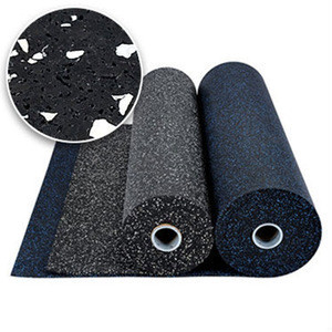 Rubber Flooring Type Item factory direct sell patent multi-fuction GYM rubber tile
