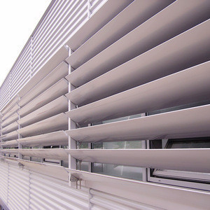 Sun adjustable louver shutter aluminum window louver prices motor plantation shutters from china
