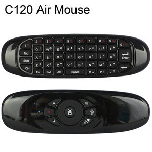 T10 2.4GHz c120 Air Mouse T10 Wireless Air Fly Mouse and Keyboard Combo for Android TV Box C120