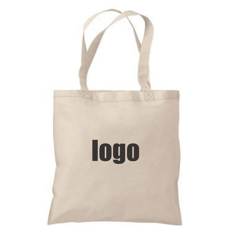 Custom 100% Cotton Canvas Tote Shopping Reusable Grocery Bag