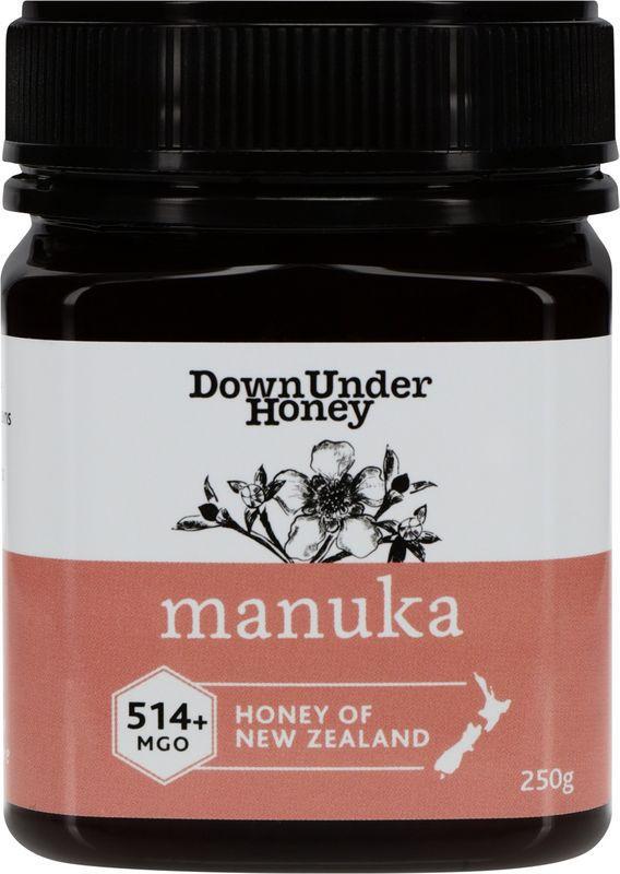 Manuka Honey New Zealand MGO 514 + Retail Packed