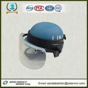 SANDA Bullet resistant Glass Visor