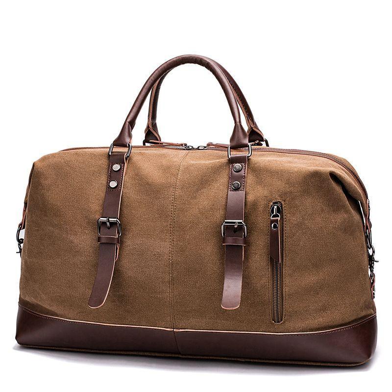 Leather Sling Crossbody Large Bag For Men