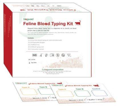 Feline Blood Typing Kit