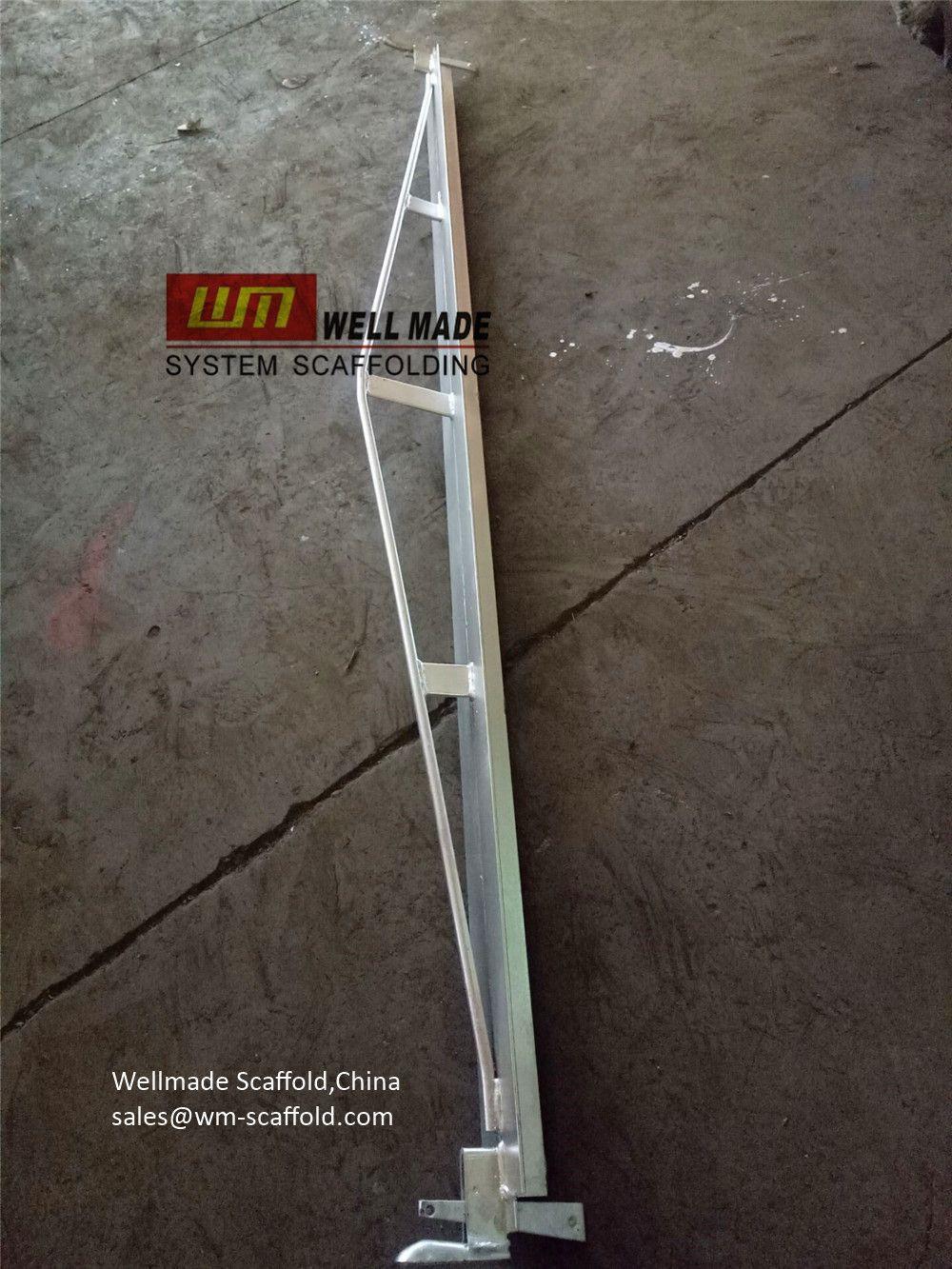 British Kwikstage Scaffolding Bow String Transom Reinforced Ledger Transom