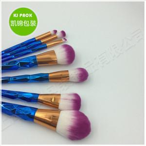 2017new design high quality cosmetic makeup brush set 7pcs makeup brush kit