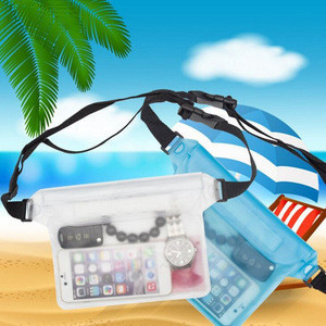 2019 Amazon hot sale waterproof phone bags for iPad PVC Waterproof Pouch/Waterpoof Phone Bag for phones/PDA/camera/MP3/MP4/PSP