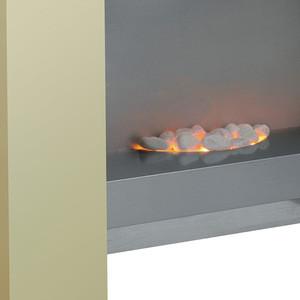 Cheap Big Freestanding Building Indoor Mdf Wooden Electric Fireplace